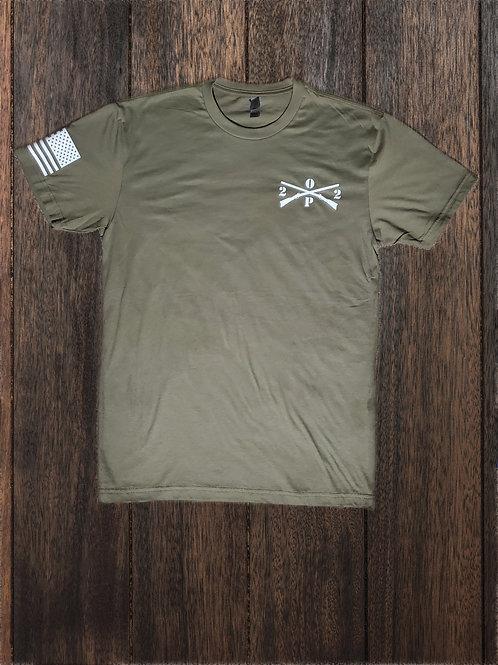 Logo Cross Rifles T-Shirt