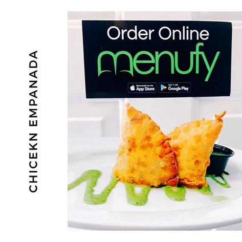 Crispy Home Made Chicken Empanadas. Orde