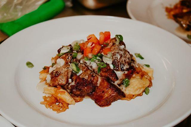 Flank Steak, Chamorro, and Al Pastor Tac