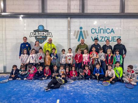 Torneo de navidad Academia Padelprix-Clinica Vázquez de Tenis