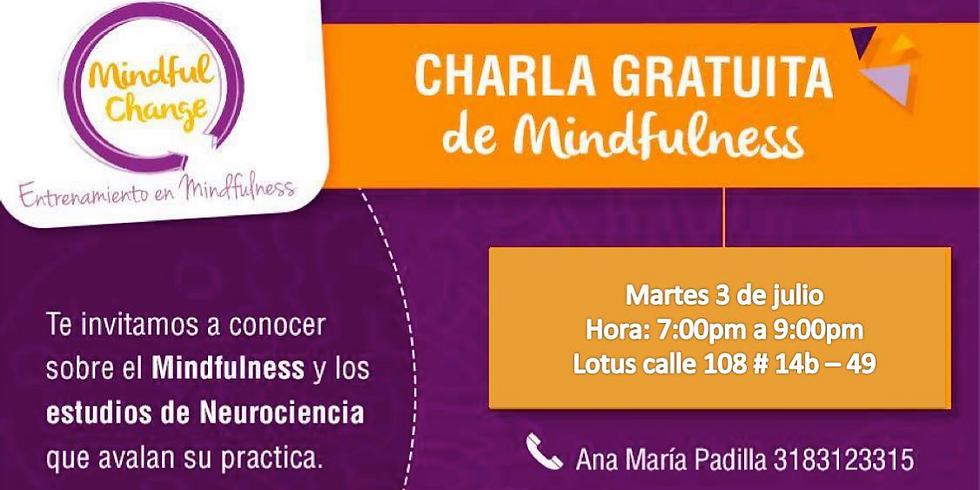CONFERENCIA GRATUITA DE MINDFULNESS