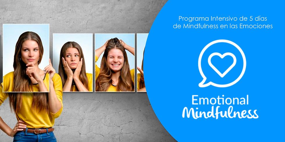 EMOTIONAL MINDFULNESS - PROGRAMA INTENSIVO DE 5 DÍAS