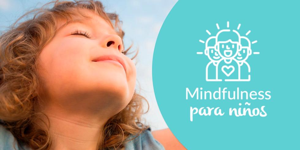 CURSO DE MINDFULNESS PARA NIÑOS (6, 7 y 8 años)