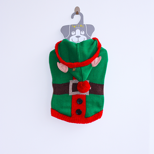 'ELF' KNITTED JUMPER. WITH FLASHING LIGHT