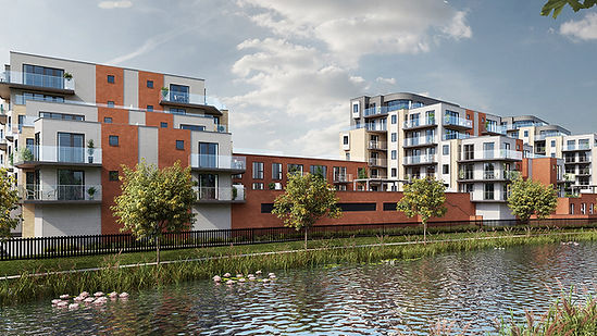 Image - new builds development Reading riverside