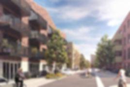 New build development of apartments