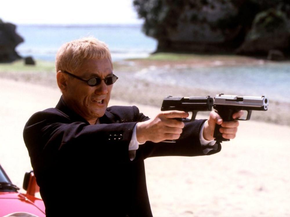 Las gafas de Takeshi en Takeshis' (2005)