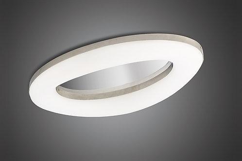 Mantra M4902 Oakley Ceiling 40W LED 3000K, Polished Chrome/Frosted Acrylic