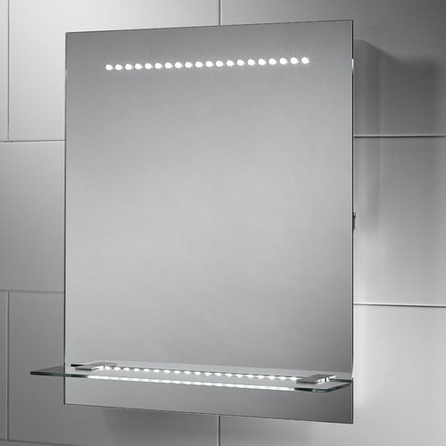 SENSIO SE30566CO1 NYLA LED MIRROR WITH GLASS SHELF