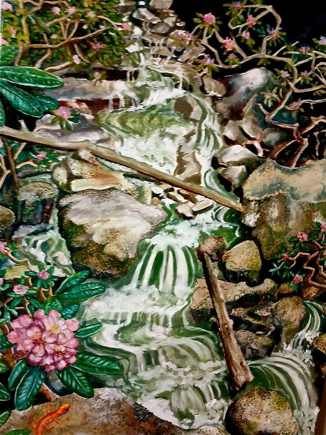 virginia Waterfall,oil, 18_x24_ , 300, 2