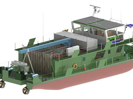 Elektra : Un bateau à pile hydrogène pour Berlin et Hambourg