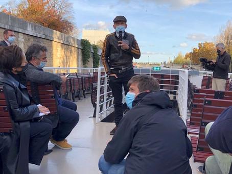 Les auteurs sur le pont pour défendre les librairies