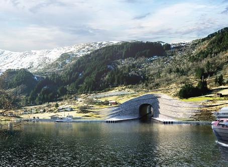 En Norvège, un tunnel à bateaux pour éviter les tempêtes.