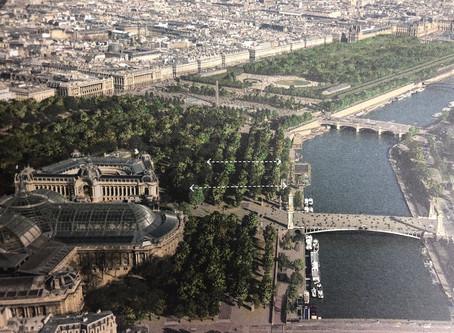 Exposition au Pavillon de l'Arsenal - Le projet : réenchanter les Champs-Elysées pour 2030