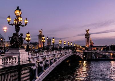 le pont Alexandre III paris seine