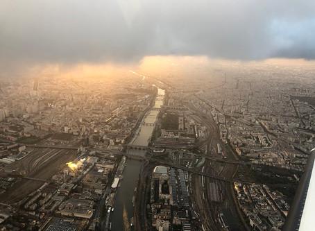 Ce soir en rentrant sur Paris ...