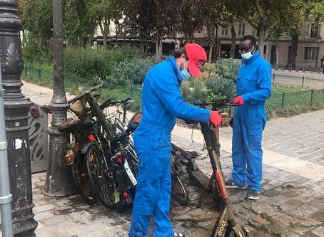 Start-up de nettoyage de la Seine et des canaux !