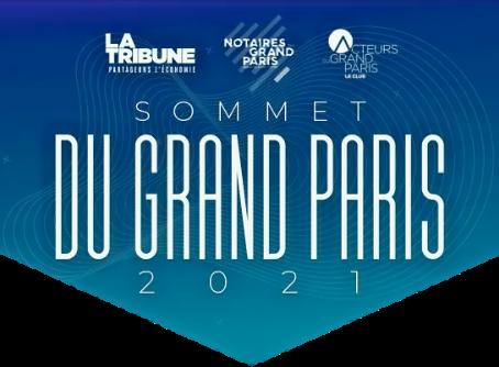 SOMMET DU GRAND PARIS 2021 - 21 Septembre 2021