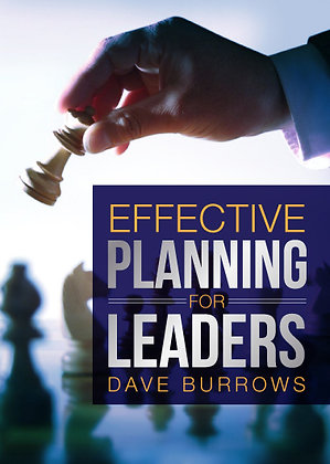 Effective Planning For Leaders