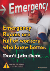 Emergency Dept Safety Posters