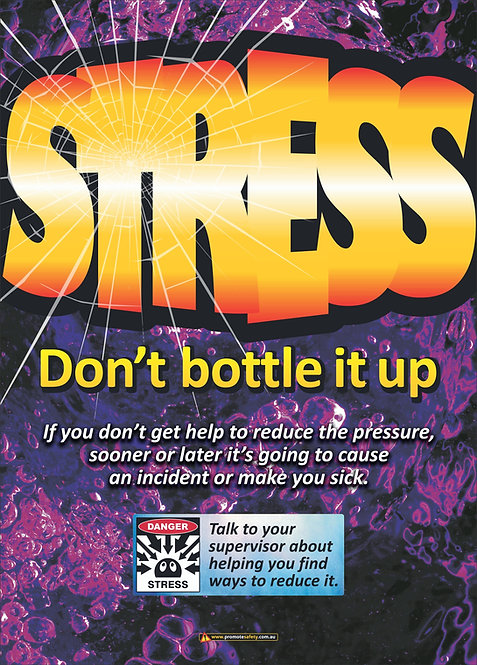 Stress Safety Posters