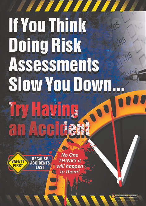 Risk Assessments Safety Posters