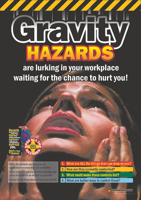 Gravity Hazards #2 Safety Posters