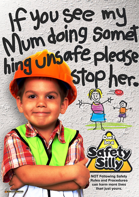 If You See My Mum (Mom) Safety Posters