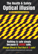 Safety Illusion Safety Posters