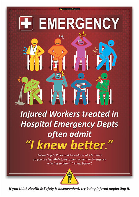 Emergency Dept #2 Safety Posters