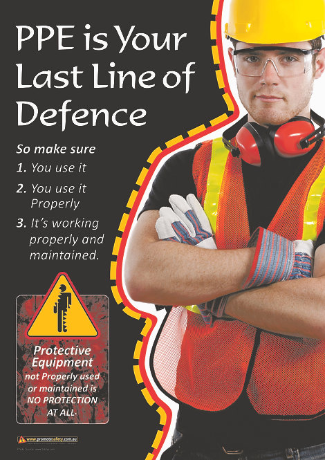 PPE Last Line #2 Safety Posters