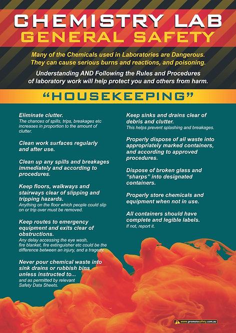 Chem Lab Safety Basics #4 Safety Posters