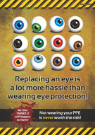 Replacing An Eye Safety Posters