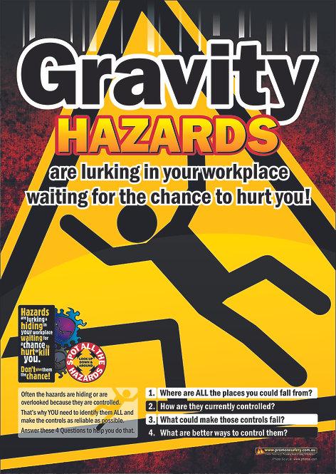Gravity Hazards #1 Safety Posters