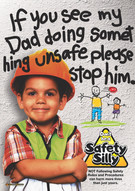 If You See My Dad Safety Posters