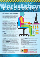 Workstation Ergonomics Basics Safety Posters