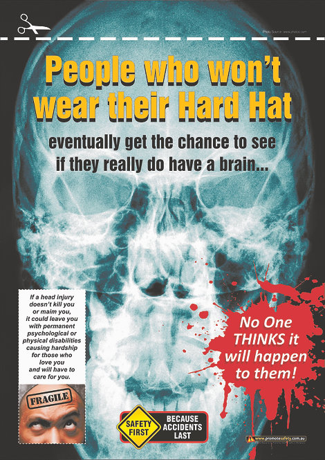Hard Hat Safety Posters