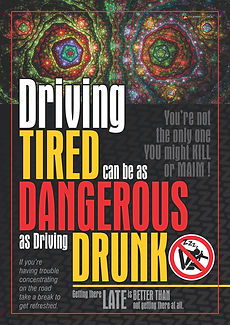 Driving Tired Like Driving Drunk 1 Safet