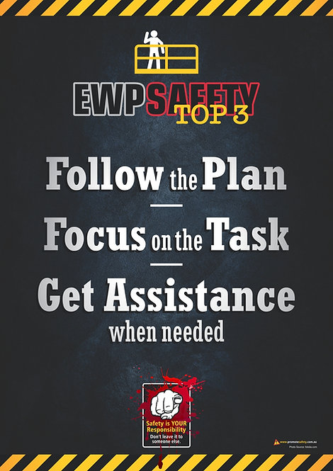 EWP Top 3 Safety Posters