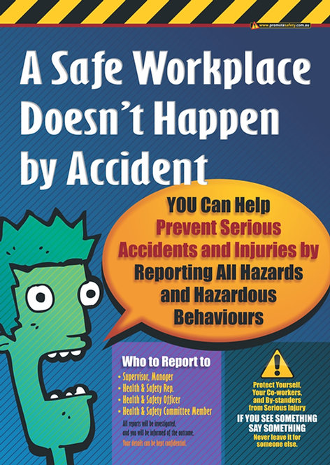 Accident Reporting #2 Safety Posters