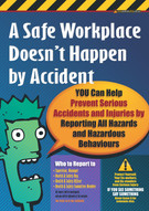 Accident Reporting 2 Safety Posters