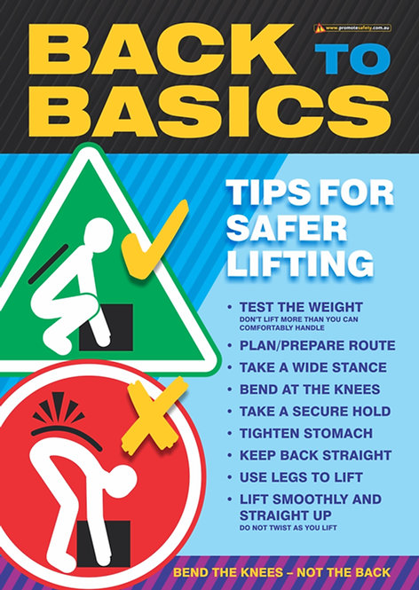 Back to Basics Safety Posters