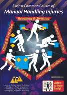 Manual Handling Common Causes Safety Posters