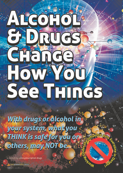 Alcohol & Drugs Safety Posters