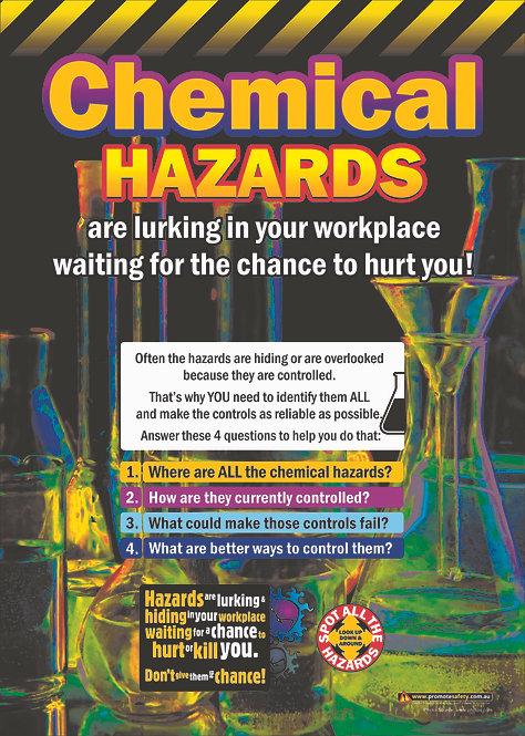 Chemical Hazards Safety Posters