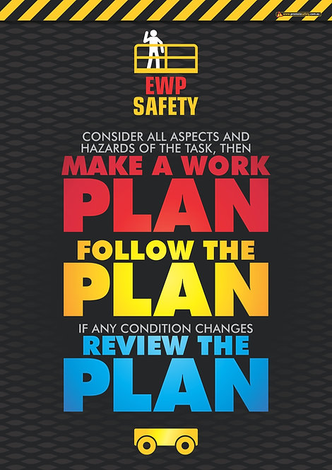 EWP Work Plan Safety Posters