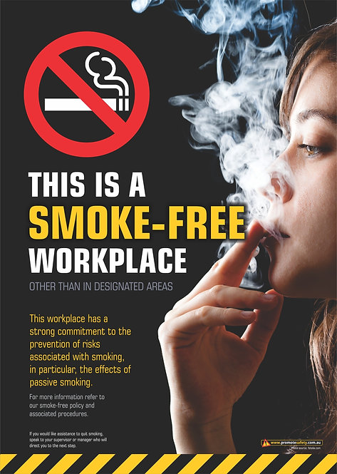 Smoke-Free Workplace #2 Safety Posters