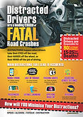 Distracted Drivers Are Fatal Safety Post