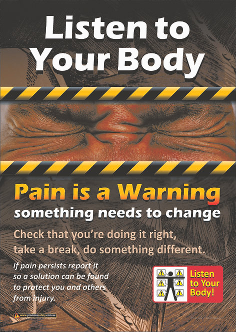 Listen to Your Body Safety Posters