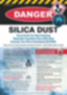 Silica Dust DANGER Safety Posters.jpg